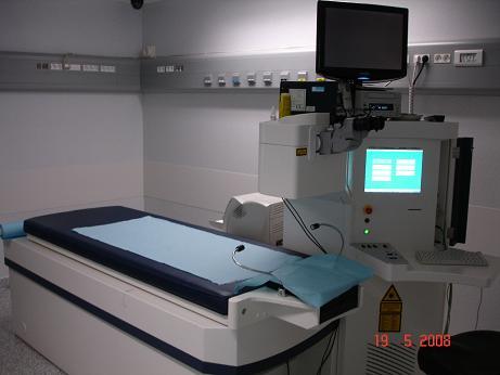 Laser excimer Technolas utilisé pour la chirurgie réfractive